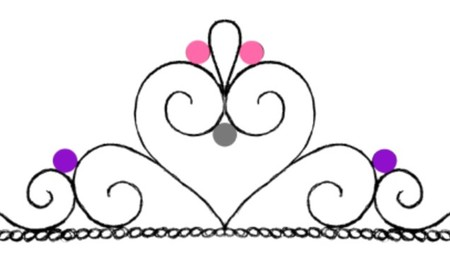 Tiara template Cake Decorating Photos