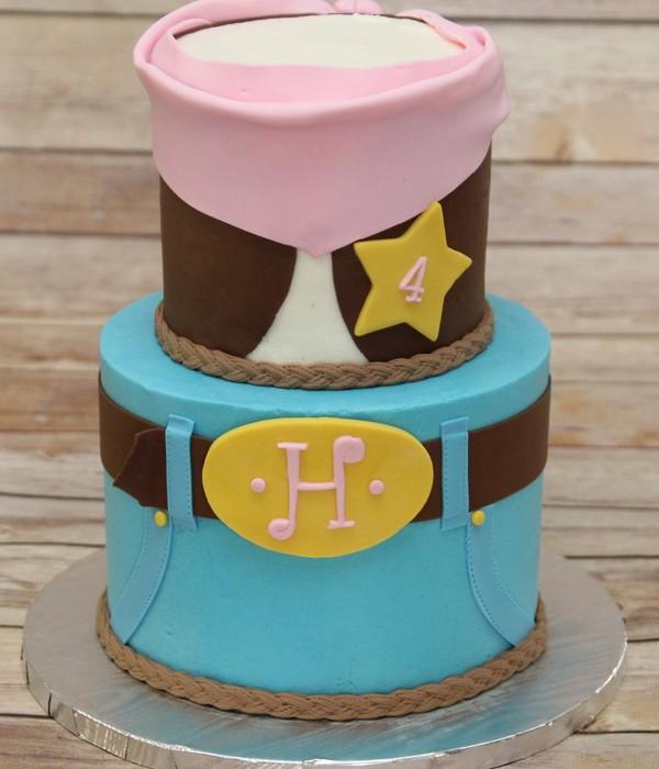 Sheriff Callie Cake Decorating Photos