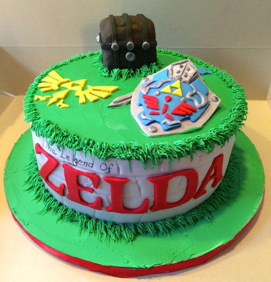 Birthday Cake Ideas Zelda