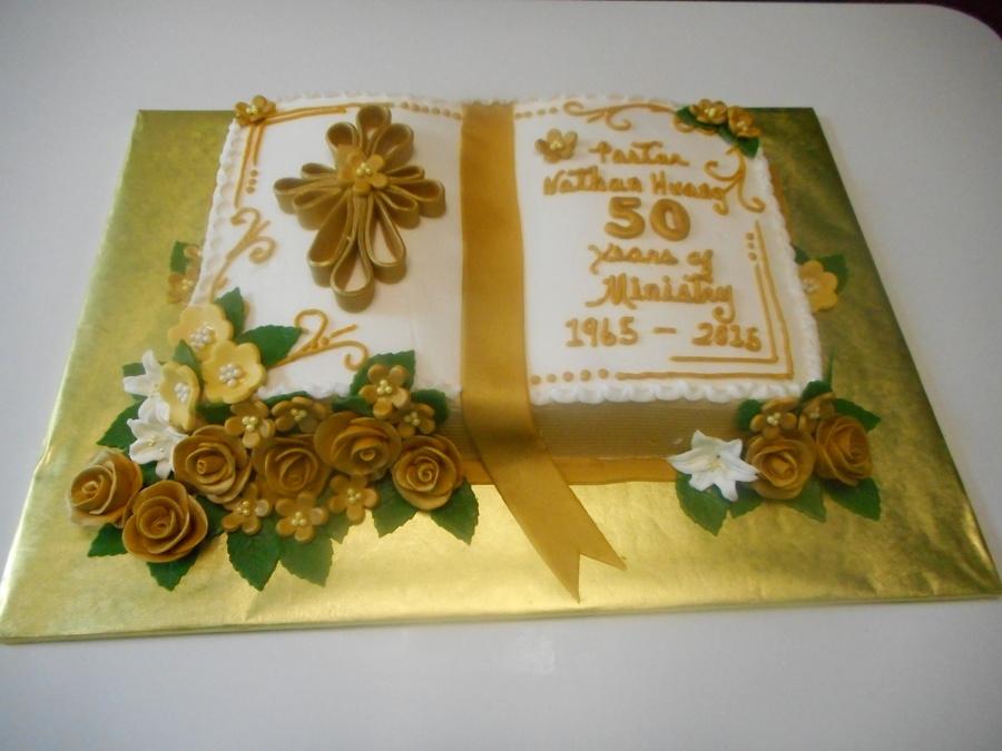 Pastor Appreciation Cake - CakeCentral.com