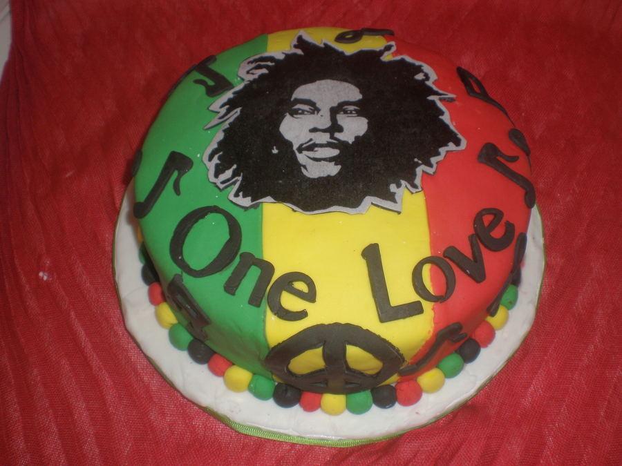 Bob Marley Birthday Cake CakeCentralcom