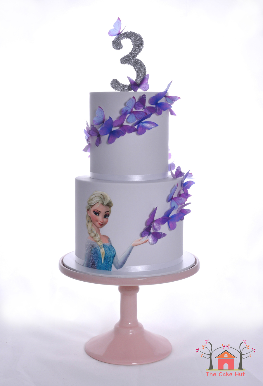 Frozen Butterfly Birthday Cake Cakecentral Com