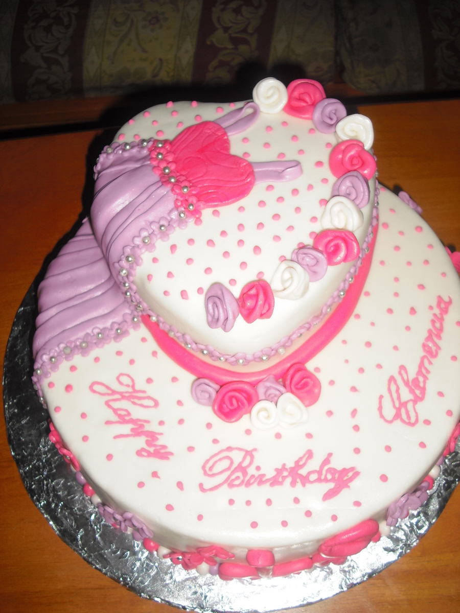 Happy Birthday To An Elegant Lady Cakecentral