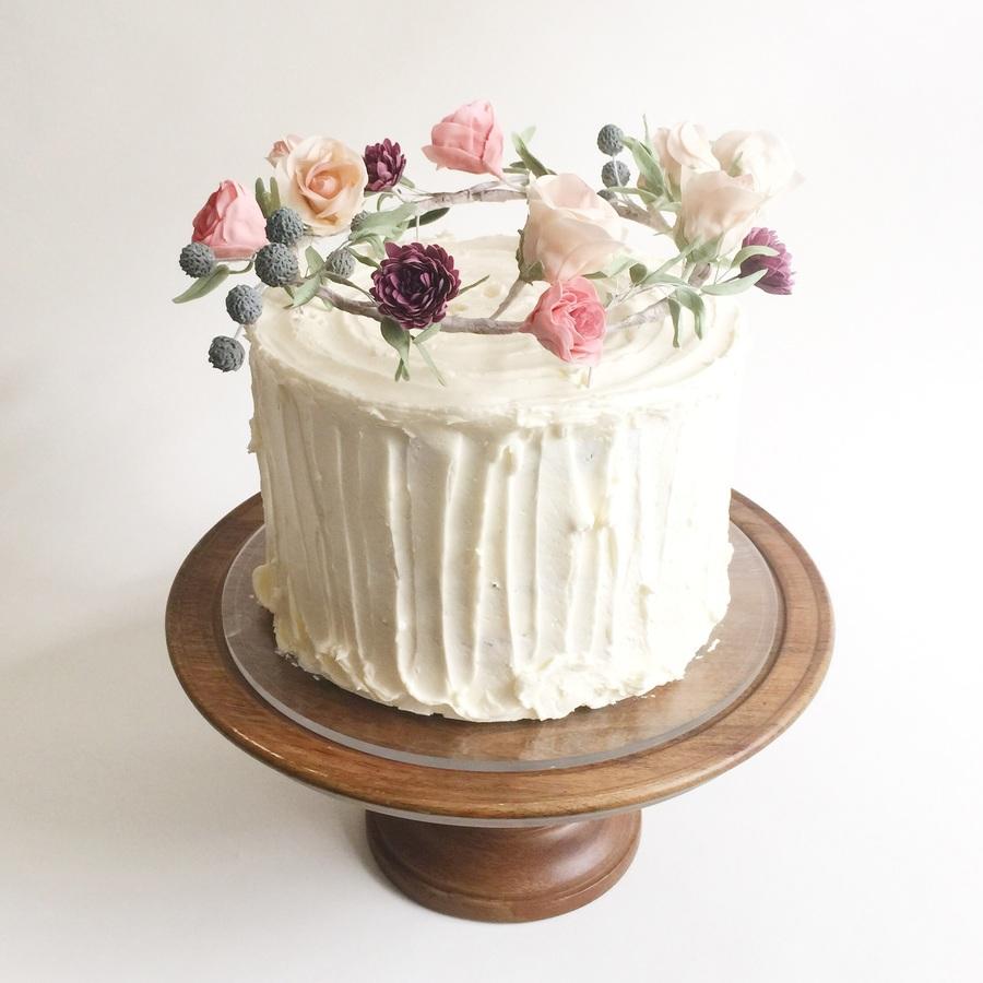 Cakecentral Com: Flower Crown Cake