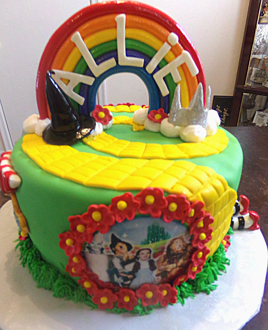 Wizard Of Oz Cake - CakeCentral.com