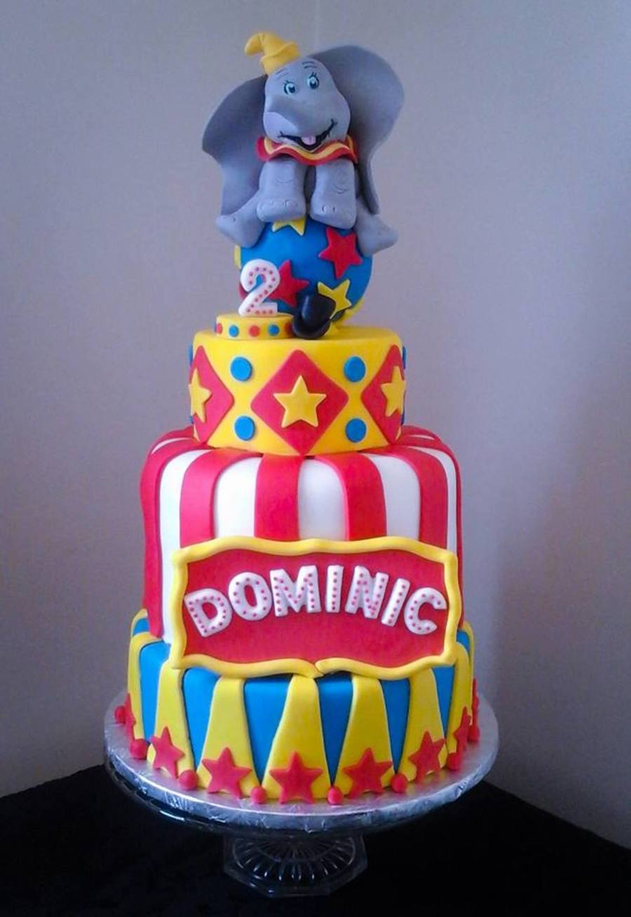 Dumbo Circus Birthday Cake On Central