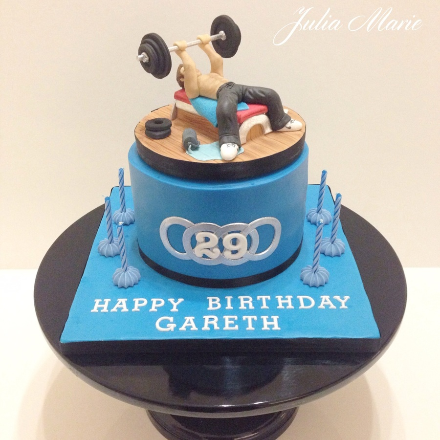 Body Builder Cake Images