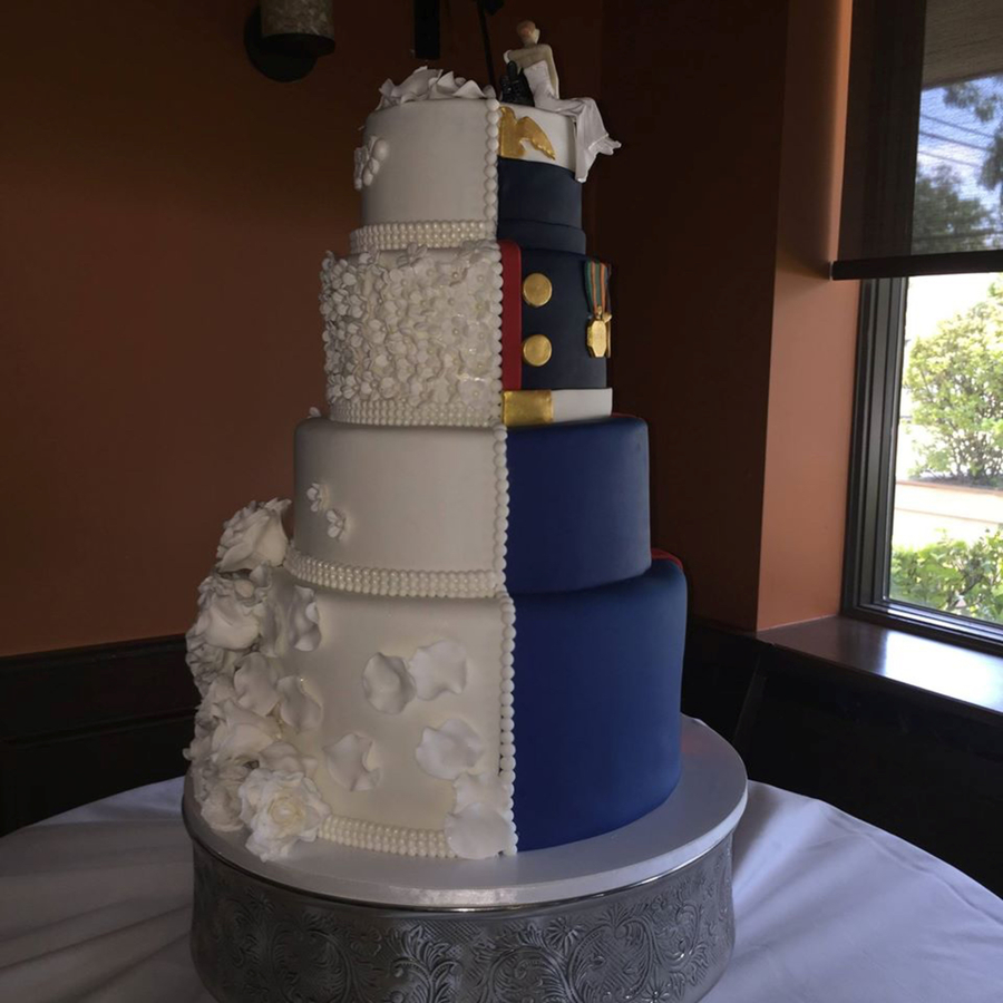 marine wedding cake marine wedding cake cakecentral 17135