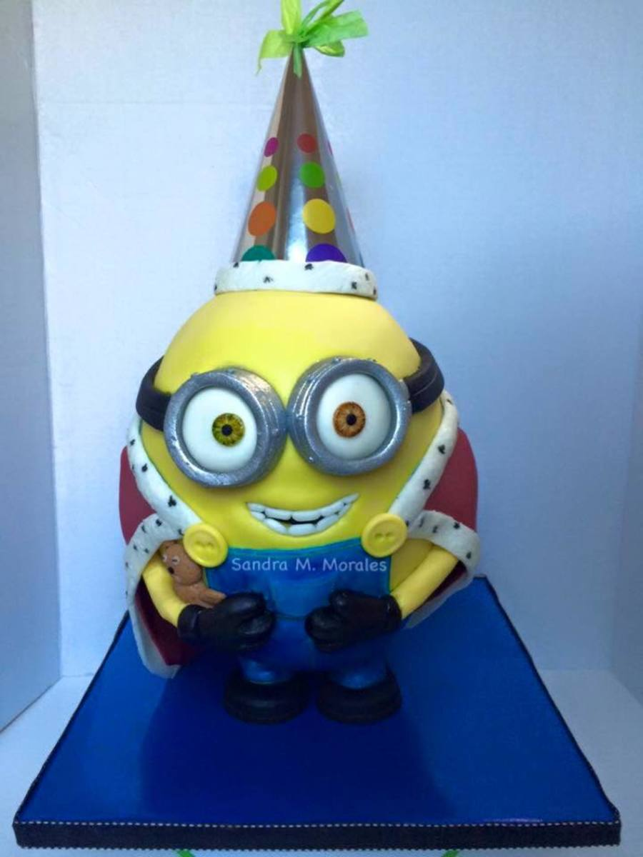 Bob Minion 3d Cake Cakecentral Com