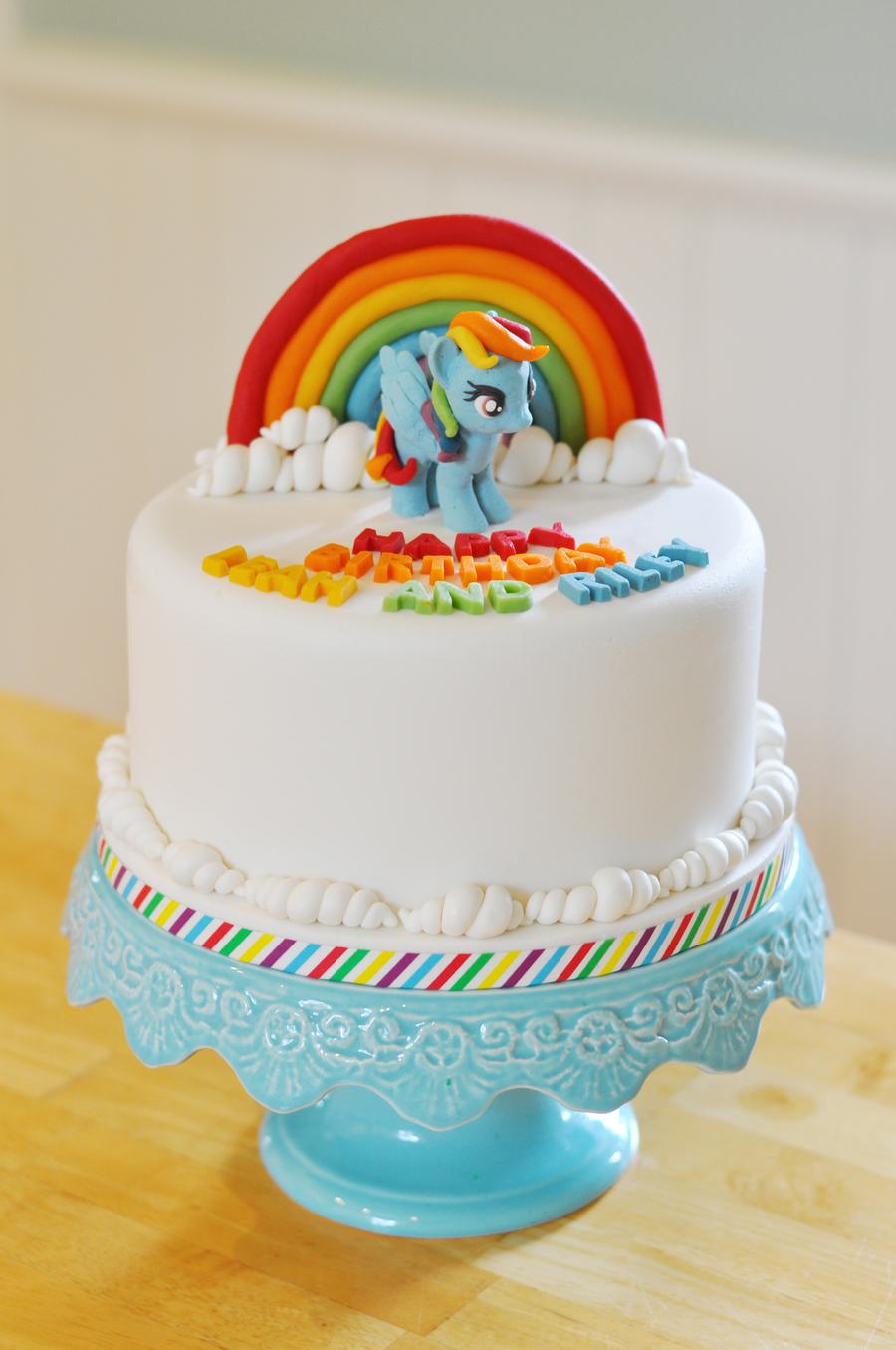 My Little Pony Rainbow Cake Ideas
