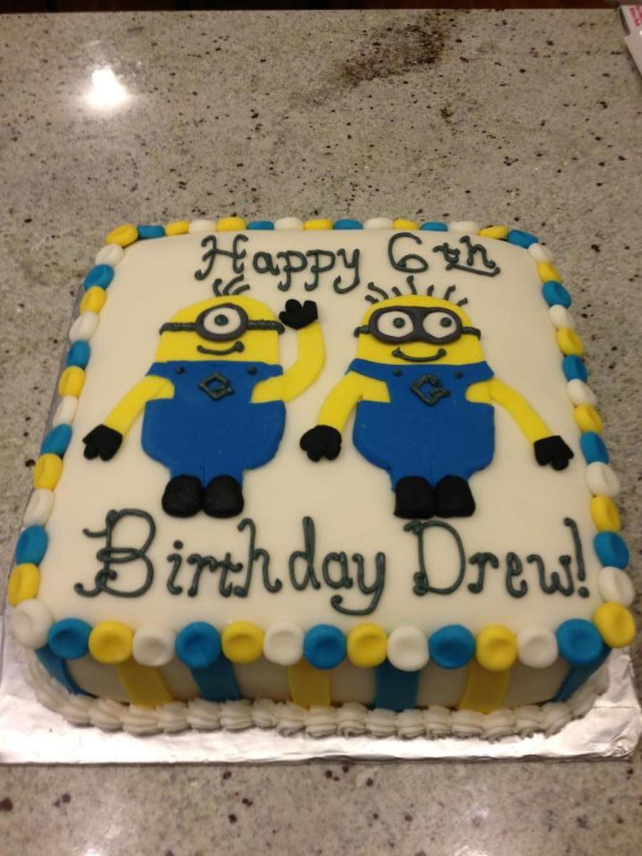 Enjoyable Minion Birthday Cake Cakecentral Com Funny Birthday Cards Online Eattedamsfinfo