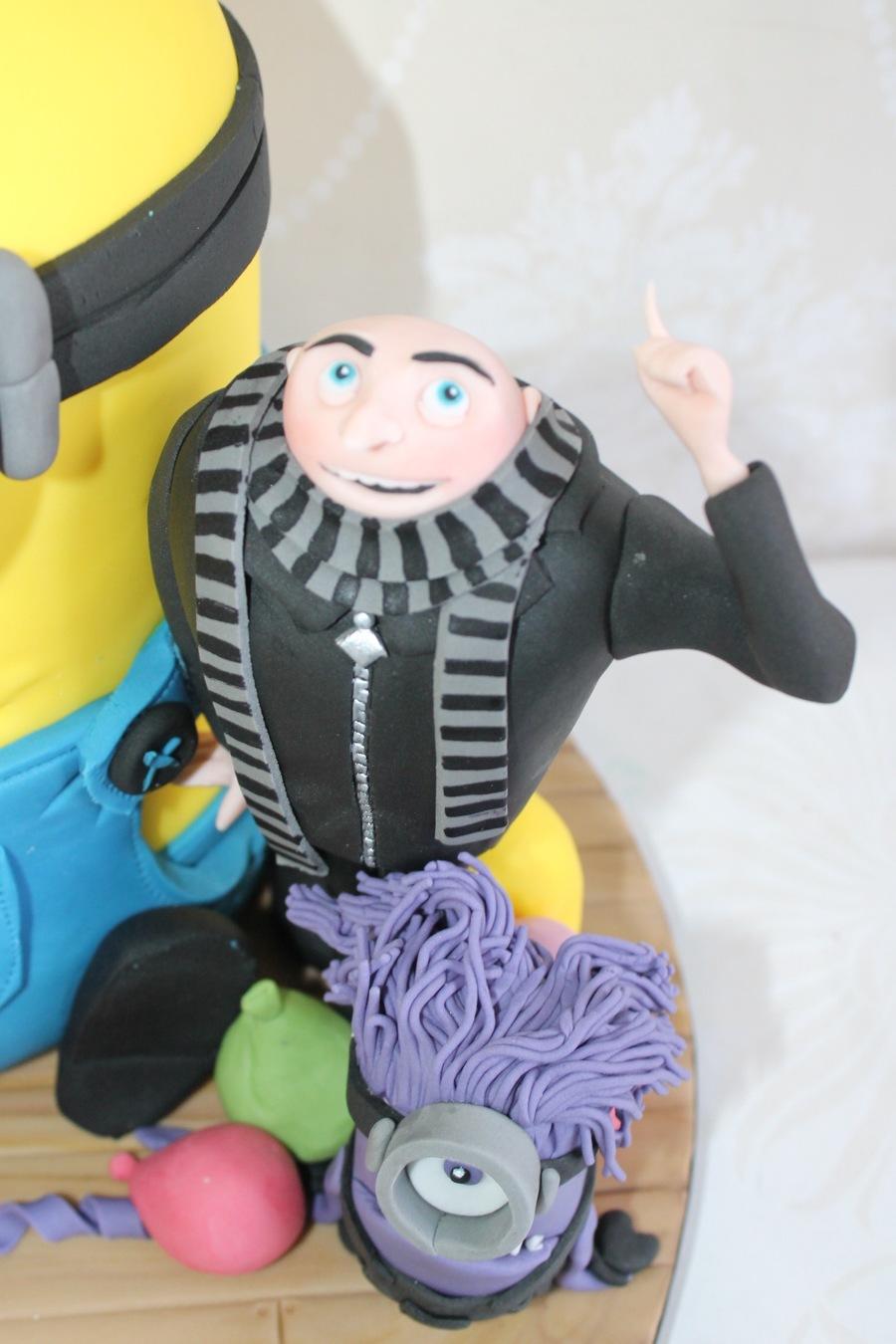 Despicable Me Gru Cake Topper CakeCentralcom