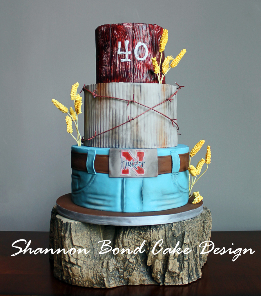Country Strong Birthday Cake Cakecentral Com