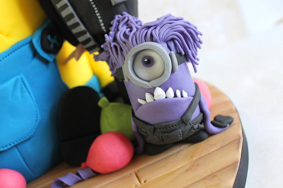 Evil Minion Cake Topper CakeCentralcom