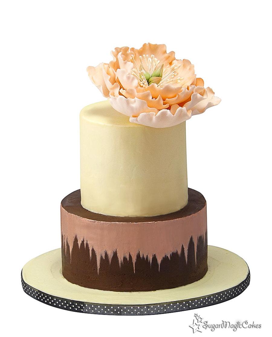 Naked Ganache Cake - CakeCentral.com
