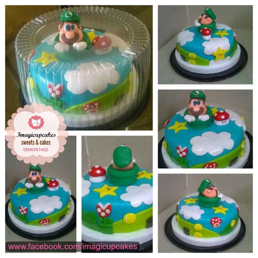 Mario Bros Fondant Cake CakeCentralcom