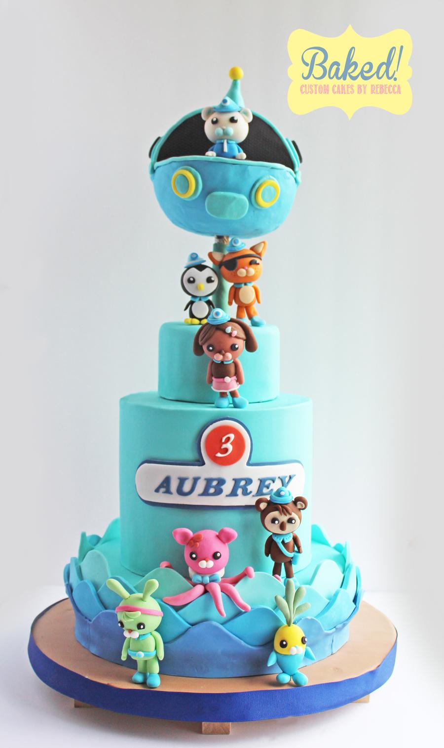 Octonauts Birthday Cake CakeCentralcom