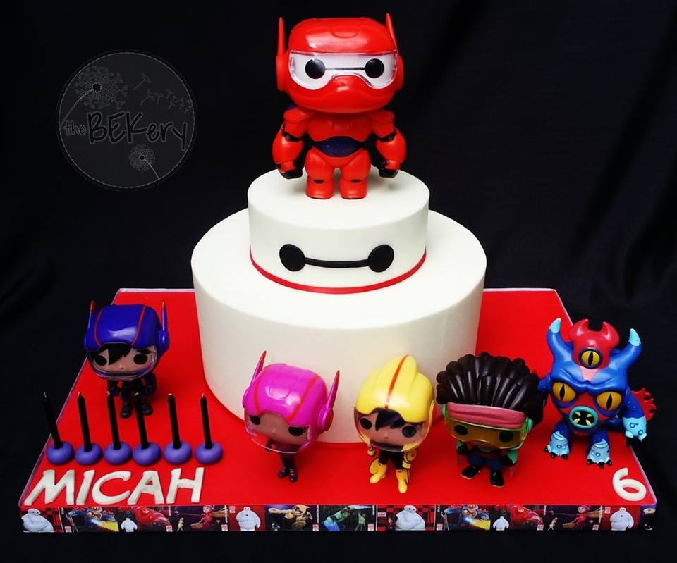 Big Hero Six on Cake Central