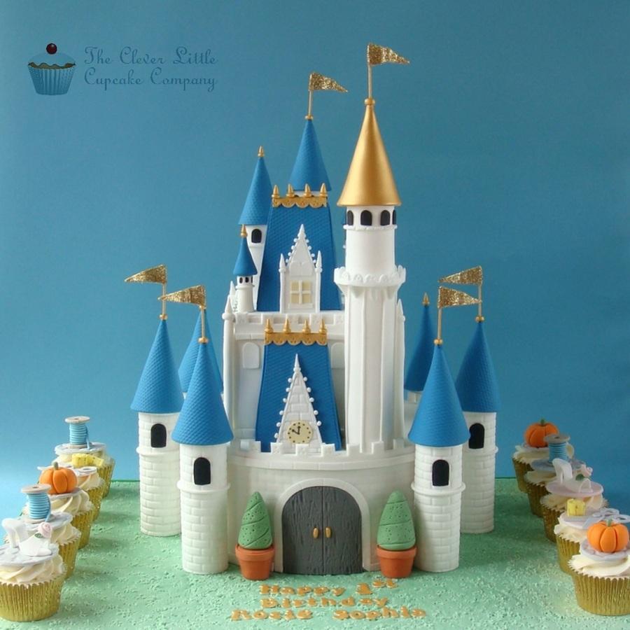 Disney Castle Cake Images : Cinderella Castle Cake - CakeCentral.com