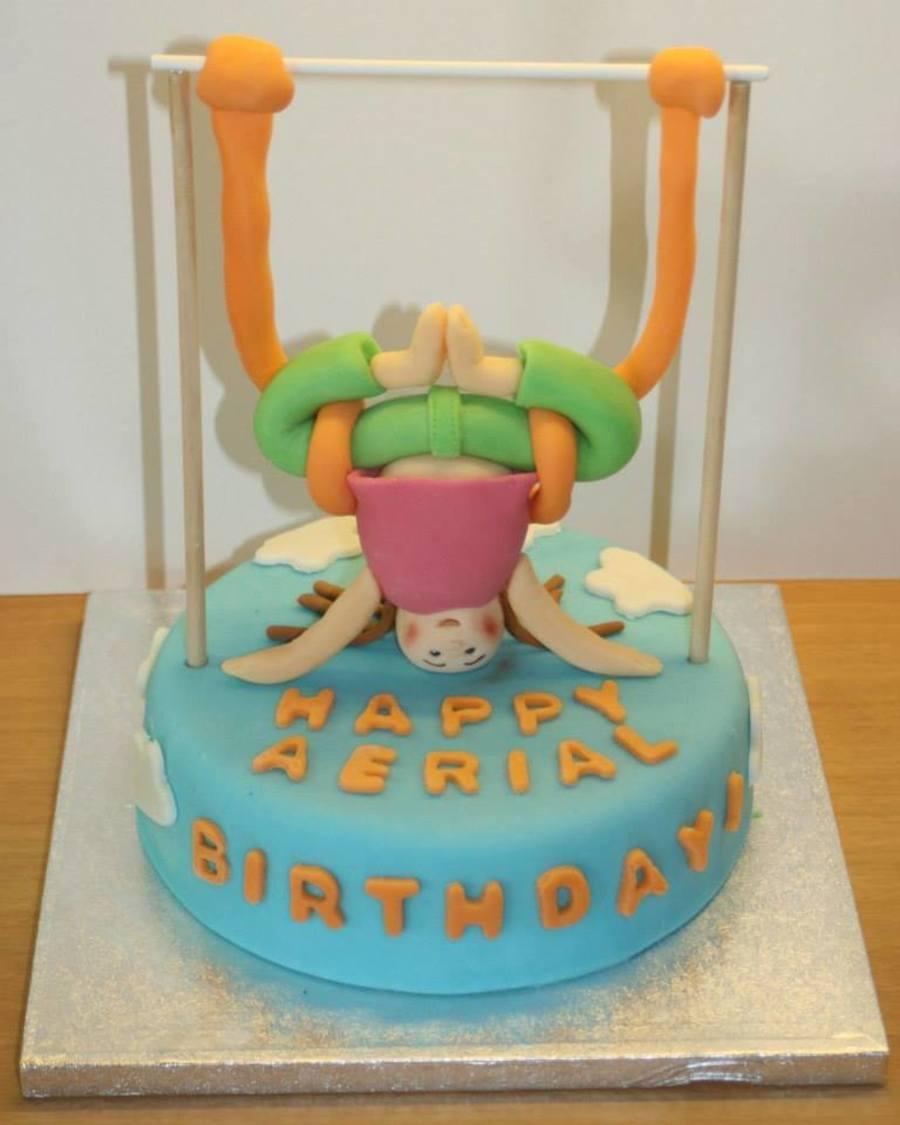 Aerial Yoga Cake CakeCentralcom