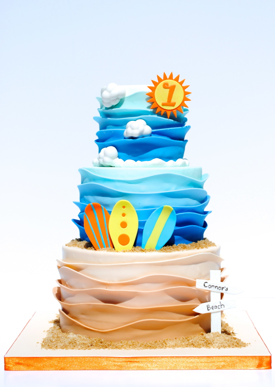 Surfs Up Birthday Cake Cakecentral