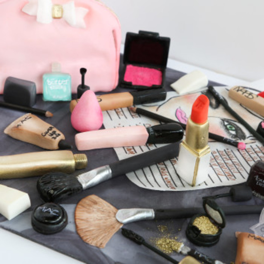 Realistic Makeup Cake on Cake Central