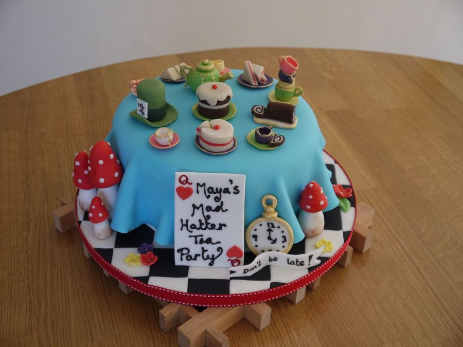 Mad Hatters Cake Recipe