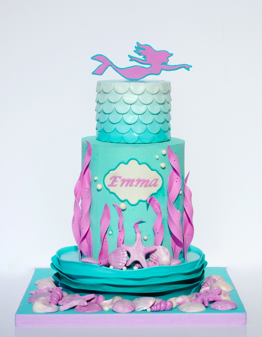 Mermaid Cake On Central