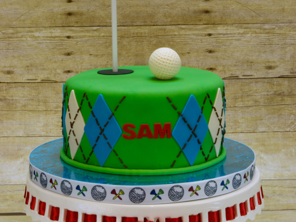 Remarkable 3Rd Hole Golf Birthday Cake Cakecentral Com Funny Birthday Cards Online Eattedamsfinfo