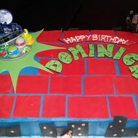 Ninja Turtle Cake This is a cake that I made for my Godson this summer. I loved it, he loved it, everyone loved it. I definitely think it was one of my best...