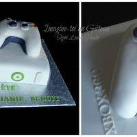 Xbox Cake   Remote made with cereal treats.