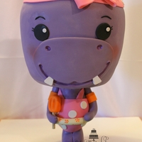 Hippo Chibi Cake  I made this Chibi cake using the tutorial by Avalon Cakes. I personalized this for my niece, since she loves hippos, orange popsicles and...