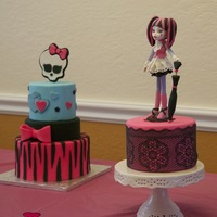 Monster High   This is a cake I made for my daughter... she love it!