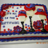 Red Hat Club Red hat club cake