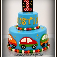 Beep Beep Cake   Little car cake