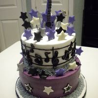 Musical Cake All decorations are made with MMF