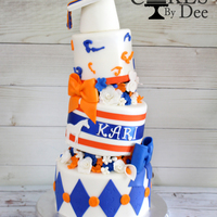 University Of Florida Graduation Cake University of Florida graduation Cake. Inspired by Sharon Zambito she just ROCKS!