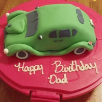 Replica Of A 1939 Hudson Attempted a car cake for the first time for my dads birthday. Wanted to recreate his favorite classic car.