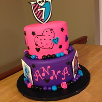 Monster High Cake Monster High Cake. All edible.