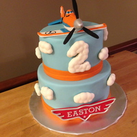 Planes Cake Airlplane Cake. All edible.