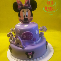 Minnie Mouse Cake For a beauty who turned 3 years :)