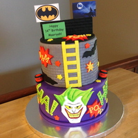 Joker Cake Joker Cake, All edible.