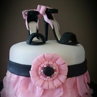 Sugar Stilletos 18th Birthday Cake
