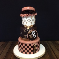 Lv Birthday All fondant
