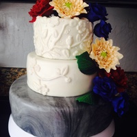 Secret Garden Themed Cake This cake was for my nieces bridal shower. I was given free reign on design. It is actually the first time I was given total control over a...