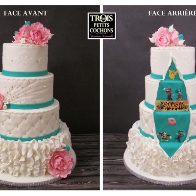 Wedding Cake Mario Smash Bros