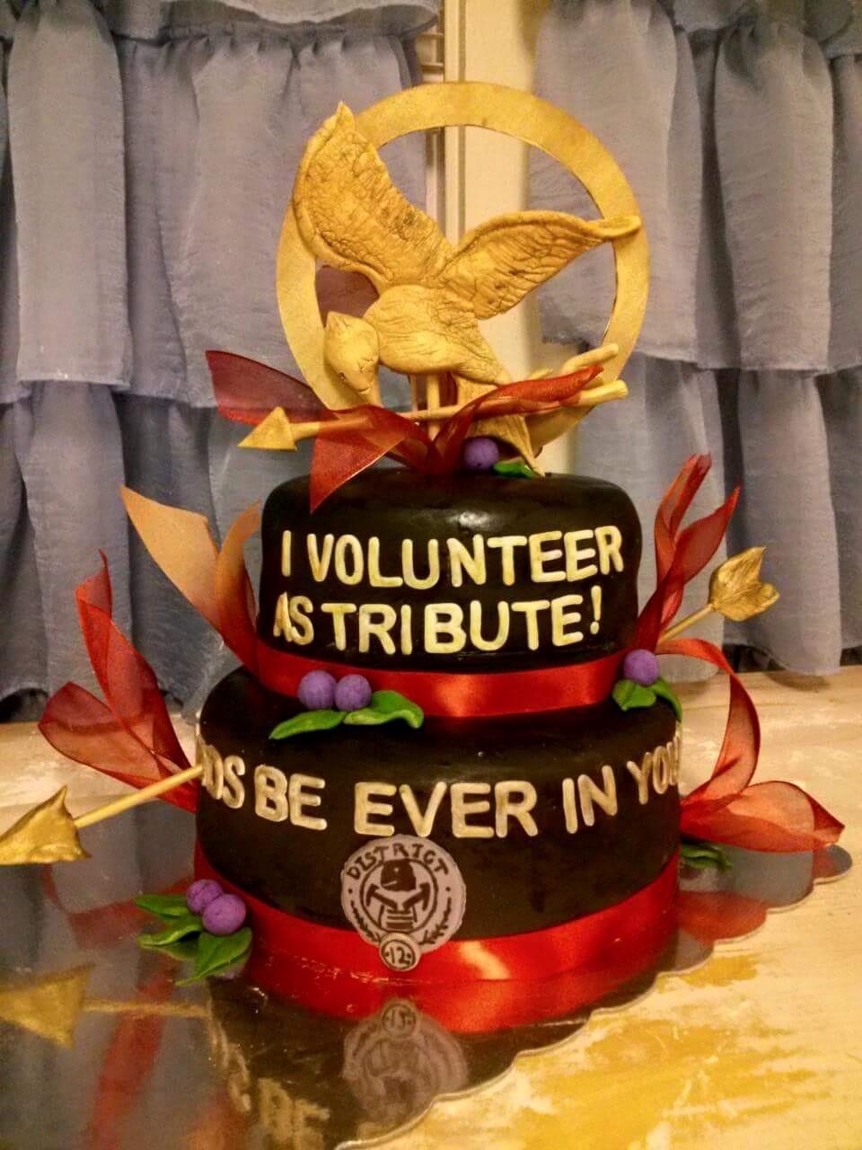 Peachy Hunger Games Cake Decorating Photos Funny Birthday Cards Online Elaedamsfinfo