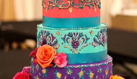 Pallette Knife Cake Design