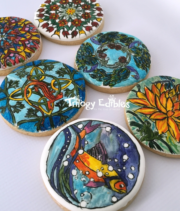 Mandalas Cookie Set