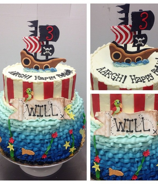 Top Pirate Party Cakes CakeCentralcom